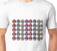 Gen 1 Pokeballs! Unisex T-Shirt