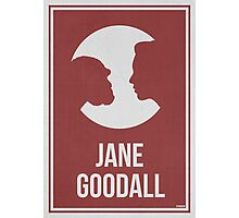JANE GOODALL - Women in Science Collection Photographic Print