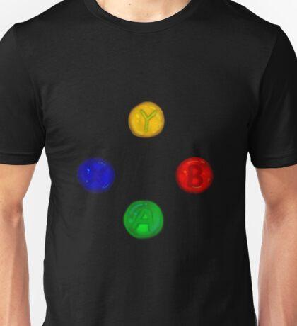 x box buttons Unisex T-Shirt