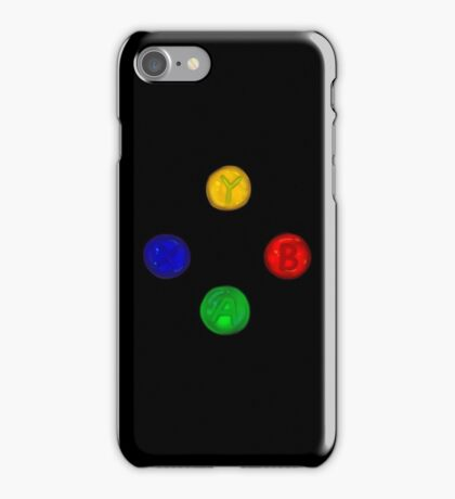 x box buttons iPhone Case/Skin