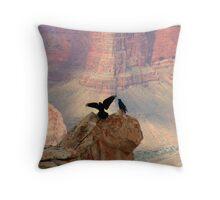 Grand Canyon Ravens Throw Pillow