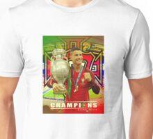 CRISTIANO RONALDO, PORTUGAL, CHAMPIONS, EURO Unisex T-Shirt