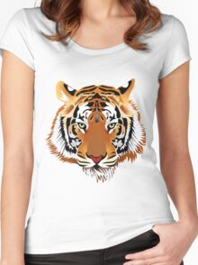 Tiger Women's Fitted Scoop T-Shirt