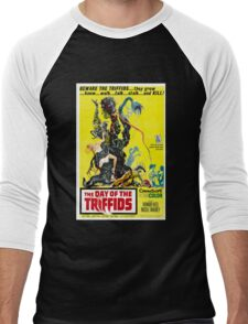 The Day of the Triffids Retro Movie Pop Culture Art Men's Baseball ¾ T-Shirt
