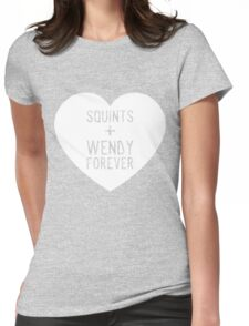 squints+wendy forever  Womens Fitted T-Shirt