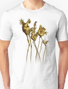 Dali Chocobos Unisex T-Shirt