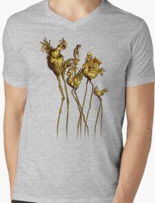 Dali Chocobos Mens V-Neck T-Shirt