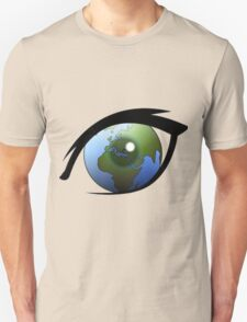 Earth In The Eye Unisex T-Shirt