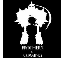 Brothers Is Coming Photographic Print