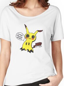 Mimikyu is trying his best, Okay? Women's Relaxed Fit T-Shirt