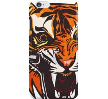 Angry Tiger 578 iPhone Case/Skin