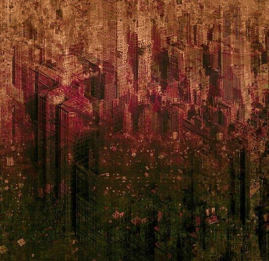 hornet city by Jean-François Dupuis