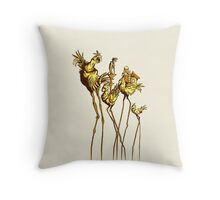 Dali Chocobos Throw Pillow