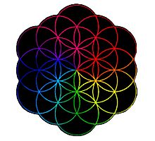 Coldplay Symbol is The Best Photographic Print