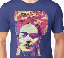 Frida Kahlo Quote I Am Happy To Be Alive As Long As I Can Paint Unisex T-Shirt