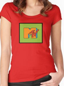 MTV Throwback 2 Women's Fitted Scoop T-Shirt