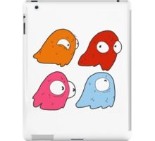 Inky, Blinky, Pinky, and Clyde iPad Case/Skin