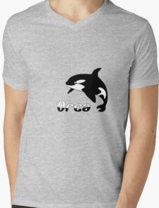 Orca Mens V-Neck T-Shirt