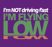 I'm not driving fast – I'm flying low (2) by PlanDesigner