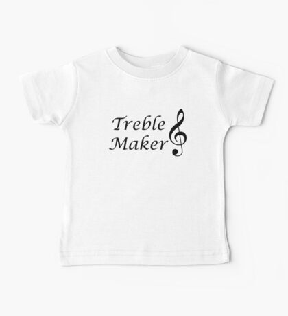 Funny Music Design Baby Tee