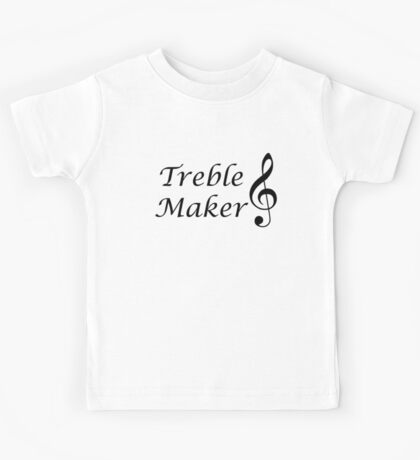 Funny Music Design Kids Tee