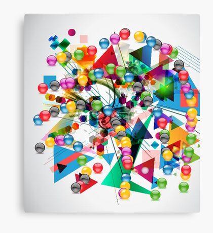 Ball&triangle Canvas Print