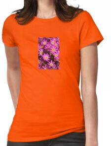 """""""Pink Wildflowers"""" Western Australia Womens Fitted T-Shirt"""