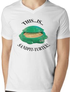 Bring Me The Horizon Sandpit Turtle Mens V-Neck T-Shirt