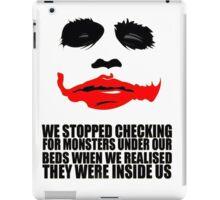The Joker Quotes iPad Case/Skin