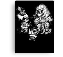 Super Shredder Canvas Print