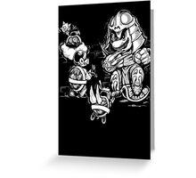 Super Shredder Greeting Card