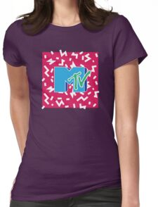 MTV Throwback 6 Womens Fitted T-Shirt