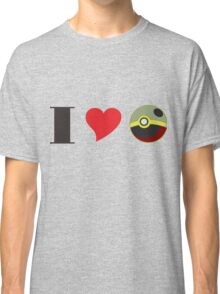 i love pokemon Classic T-Shirt