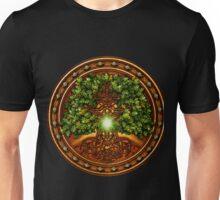 Celtic Oak Tree Shield Unisex T-Shirt