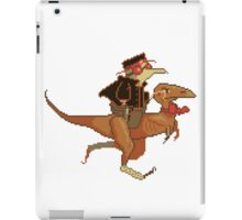 Gentleman Dinosaur Duelist #2 iPad Case/Skin