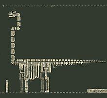Brachiosaurus by saimen
