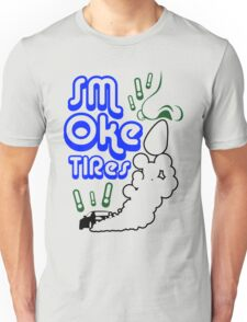 Smoke tires (1) Unisex T-Shirt