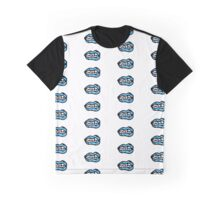 Turquoise Lips Graphic T-Shirt