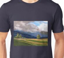 Stormy day over the Liverpool Ranges  Unisex T-Shirt