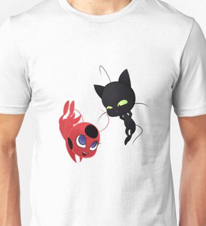 Plagg and Tikki Unisex T-Shirt