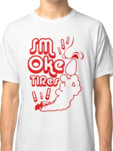 Smoke tires (2) Classic T-Shirt
