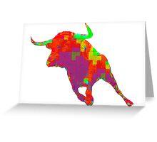 Toro español Greeting Card