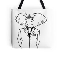 Elephant In a Tux Tote Bag