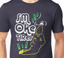 Smoke tires (3) Unisex T-Shirt