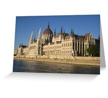 Parliament, Budapest Greeting Card