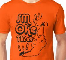 Smoke tires (4) Unisex T-Shirt