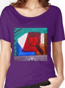 Collage Nr. 1: Magnifying Women's Relaxed Fit T-Shirt