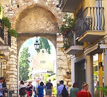 Taormina Catania Gate by Francis Drake