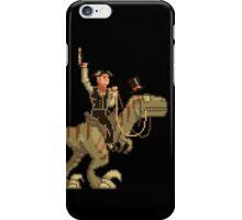Gentleman Dinosaur Duelist #1 iPhone Case/Skin