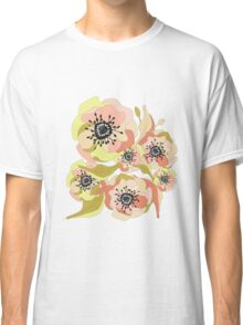 Abstract Elegance Seamless pattern. Floral background Classic T-Shirt